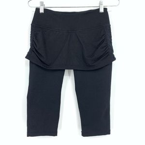 Zella Skirted Workout Leggings Cropped